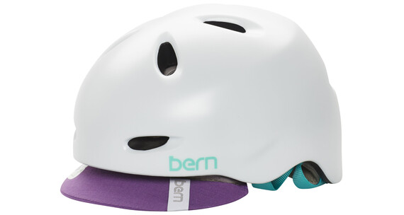 Bern Berkeley Helm inkl. Flip-Visier satin-weiß